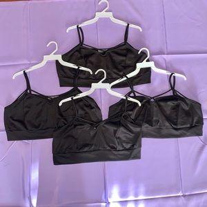 WHOLESALE Women's Plus size black bralette top